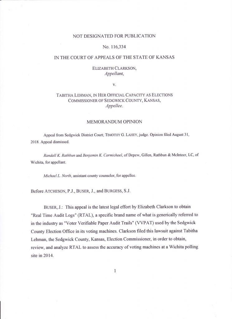 Appeals Court Decision Page 1