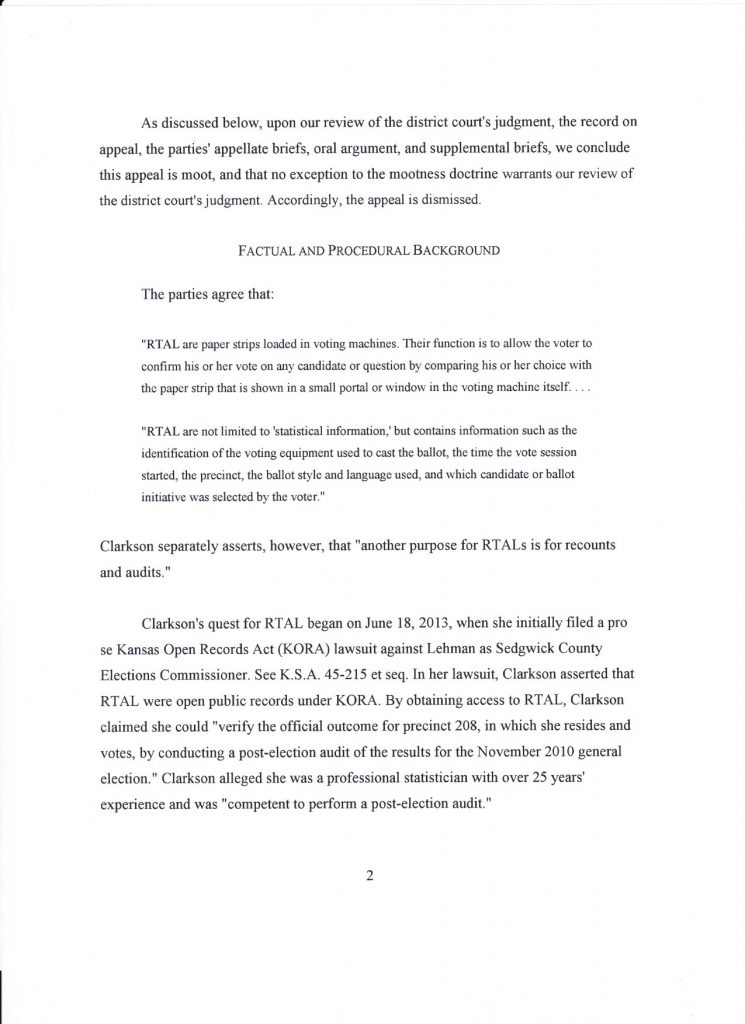 Appeals Court Decision Page 2